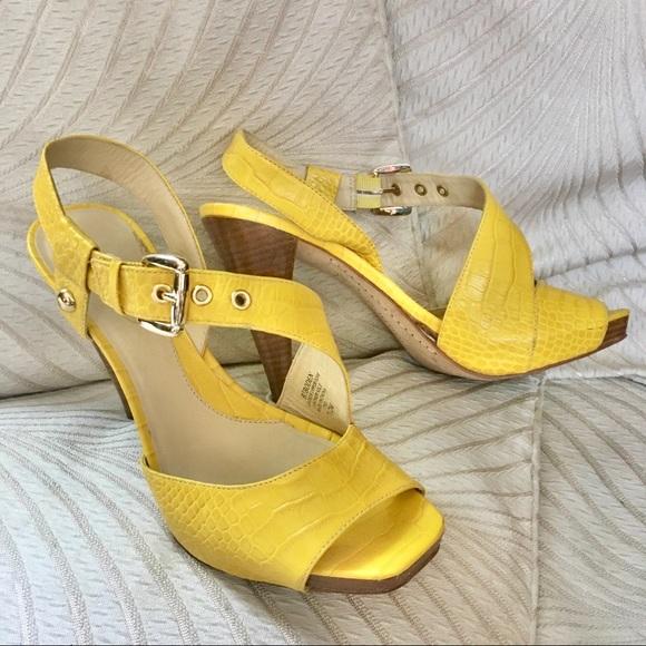 Vtg Y2K strappy sandals heels Boden Boutique 7.5